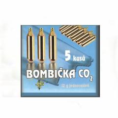 Bombička CO2 pro zbraně 12g - 5ks
