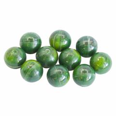Kuličky T4E  17,3 mm - green 10ks