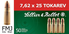 náboj 7.62x25 TOKAREV