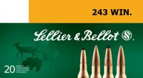 náboj kulový 243 WIN. 6,5g SP