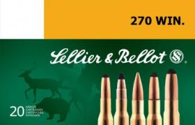 náboj kulový 270 WIN. 9,7g SP