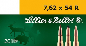 náboj kulový 7,62x54R 11,7g SP
