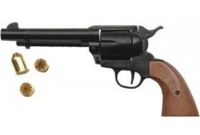 Plynový revolver BRUNI 6RD Peacemaker-černý