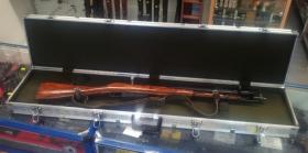 hliníkový přepravní kufr na dlouhé zbraně
