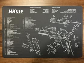 Servisní podložka pro zbraně - HK USP