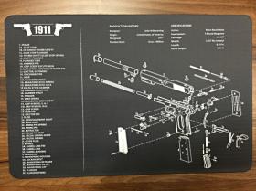 Servisní podložka pro zbraně - Colt 1911