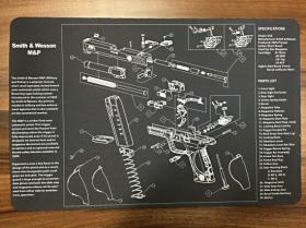 Servisní podložka pro zbraně - Smith & Wesson M&P