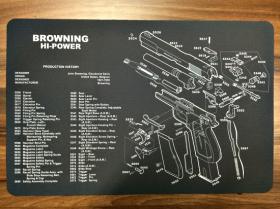 Servisní podložka pro zbraně - Browning Hi-POWER
