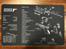 Servisní podložka pro zbraně - GLOCK
