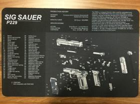 Servisní podložka pro zbraně - SIG SAUER P229
