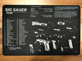 Servisní podložka pro zbraně - SIG SAUER P226