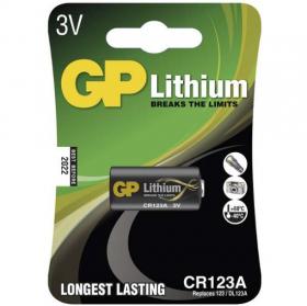 baterie GP CR123A - lithiová baterie 3V