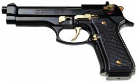 Plynová pistole Ekol Firat 92 černo-zlatá cal.9mm