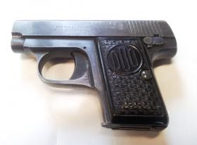 pistole samonabijecí DUO 6,35mm - komise