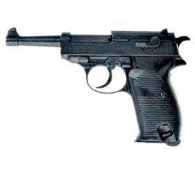 Replika pistole Walther P38, Německo 2. svět. válka
