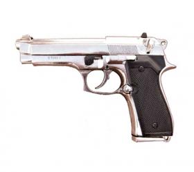 Replika Pistole BERETTA 92SB - Nikl