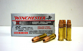 náboj .22 LR Winchester HP X-Super