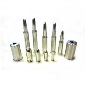 Náboj cvičný 9mm Browning - kov