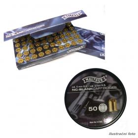 Náboj akustický 9mm Rev. pro plynové revolvery