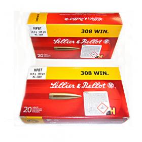 Náboj kulový 308 WIN. 10,9g HPBT