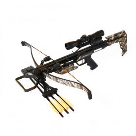 Kuše reflexní POE LANG JAGUAR II camo 175 lbs s puškohledem