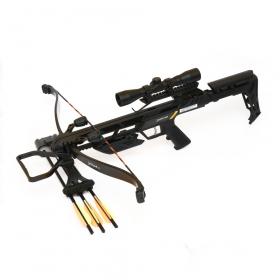 Kuše reflexní POE LANG JAGUAR II Black 175 LBS s puškohledem