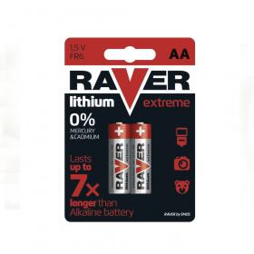 Baterie Lithiová RAVER FR6 - tužková