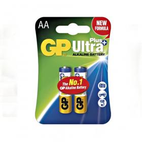 Baterie Alkalická GP Ultra Plus, blistr- tužková