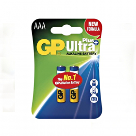 Baterie Alkalická GP Ultra Plus, blistr- microtužková ( AAA )
