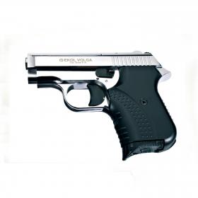 Plynová pistole Ekol Agent/Volga lesklý chrom cal.9mm