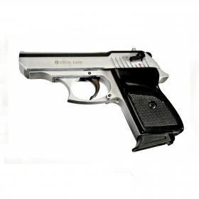 Plynová pistole Ekol Lady  nikl