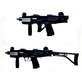Plynová pistole Ekol ASI sklopka černá cal.9mm