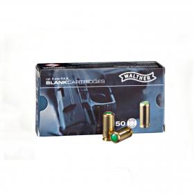 Náboj akustický 9mm P.A. pro plynové pistole Walther