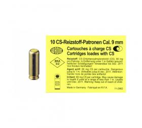 Náboj slzotvormý 9mm Rev. pro plynové revolvery