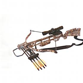 Kuše reflexní POE LANG JAGUAR SPRING CAMO 175 lbs s puškohledem