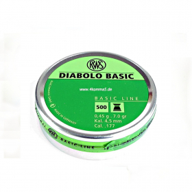 Diabolky RWS BASIC 4,5mm