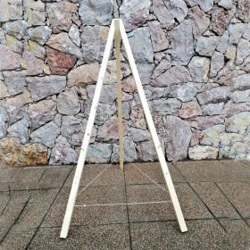 Stojan pro slaměnné dopadiště trojnožka 1900mm
