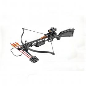 Kuše reflexní POE LANG JAGUAR I  Black 175 lbs s kolimátorem