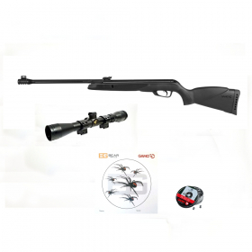 Vzduchovka Gamo Black Bear cal. 4,5 mm + puškohled GAMO 4x32 WR