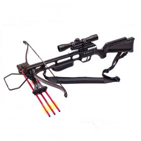 Kuše reflexní POE LANG JAGUAR black 175 LBS s puškohledem