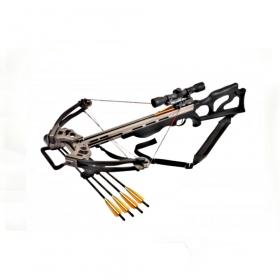 Kuše kladková POE LANG TITAN 200 lbs Black s puškohledem