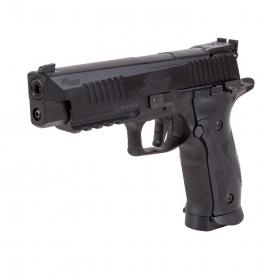 Vzduchová pistole Sig Sauer X-FIVE Black BlowBack  4,5mm diabolo