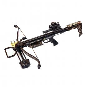 Kuše reflexní POE LANG JAGUAR II camo 175 lbs s kolimátorem
