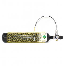 Potápěčská láhev s manometrem a hadicí - 3 litr.