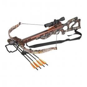 Kuše reflexní EK ARCHERY Desert Hawk 225 lbs s puškohledem