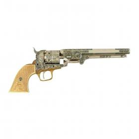 Replika revolver COLT 1851 - nikl