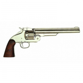 Replika revolver Smith & Wesson - nikl 1869