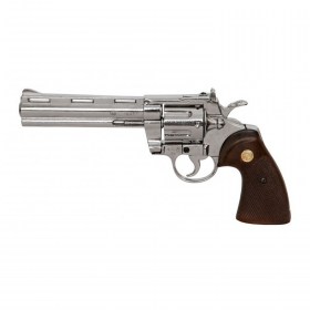 Replika revolver Phyton  USA 1955 - chrom