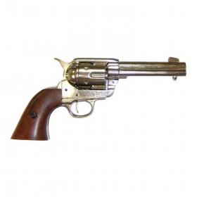 Replika revolver Peacemaker 1886 - nikl