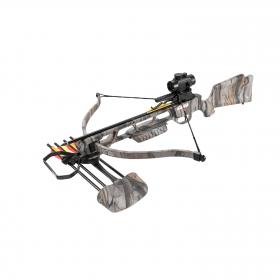Kuše reflexní  MANKUNG 175 GC CAMO 160lb s kolimátorem
